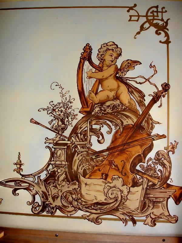 Kanowa wandmalerei k nstlerische wandgestaltung - Jugendstil wandgestaltung ...